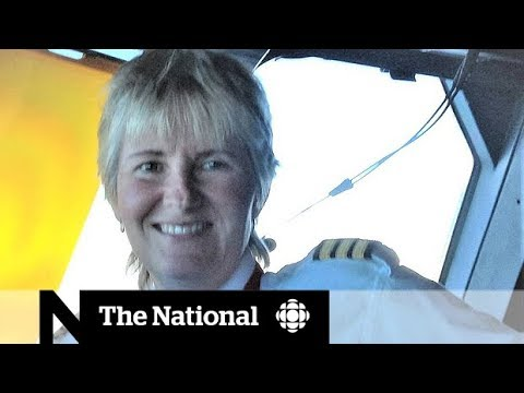 Veteran female pilot talks about sexual harassment