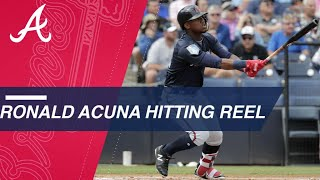 Ronald Acuna Jr. notches three hits, stolen base