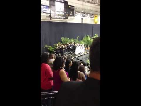 Hermitage High School Graduation 2013 National Anthem.