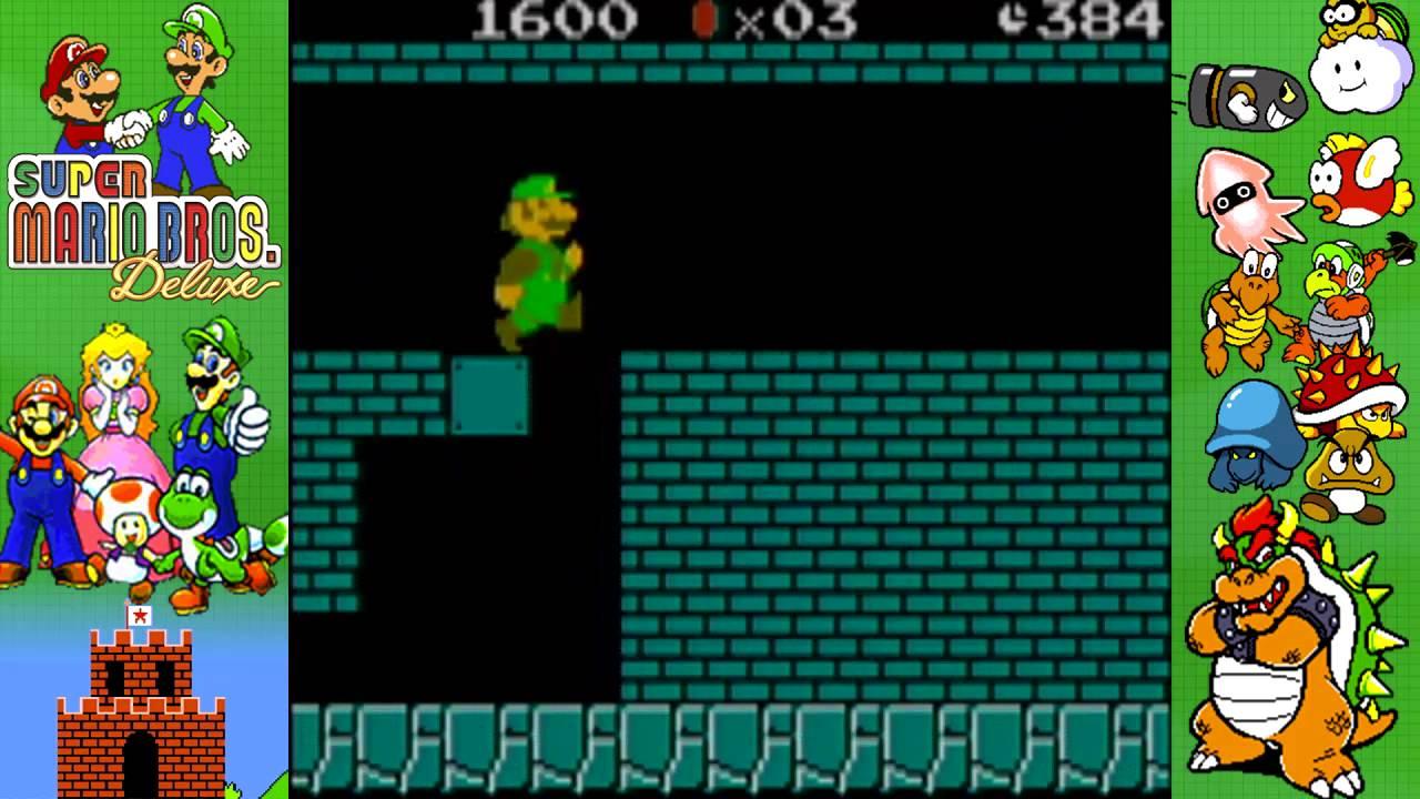 Game boy color super mario bros deluxe - Let S Play Super Mario Bros Deluxe Luigi Gbc Episode 36 Extras