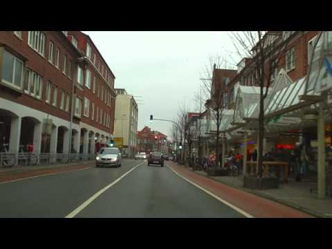 Autofahrt 27.02.2010 einmal quer durch Emden.MOV