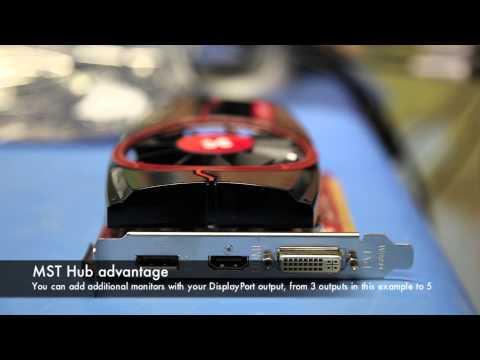 Club 3D Multi-Stream Transport Hub (MST Hub 3-1 DP++)