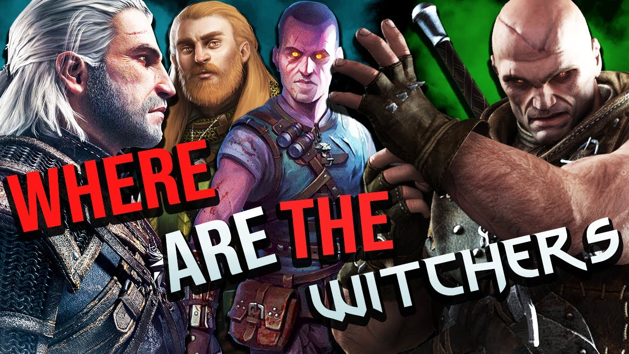 The Witchers Where Are They All? - The Witcher 3 Explained thumbnail