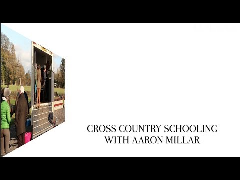 Starting a horse at Cross Country with Aaron Millar