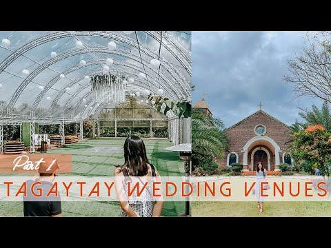 TAGAYTAY WEDDING VENUES PT.1: San Antonio De Padua, Angelfields \u0026 Bellarosa | Paul And Bea