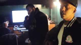 Dark Lo & Lik Moss In Studio With Gillie Da Kid - OBH BLOG pt. 14