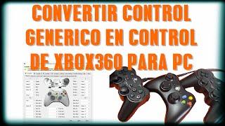 Emulador de control xbox360 para PC|CONFIGURACION|LINK OFICIAL