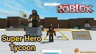 Roblox - Aquaman Super Hero Tycoon!