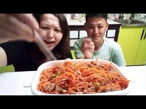 Желудочки куриные по - Корейски
