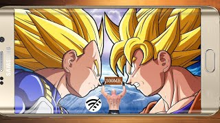 (500)mb total size dragon ballz best GAME download in android ppsspp