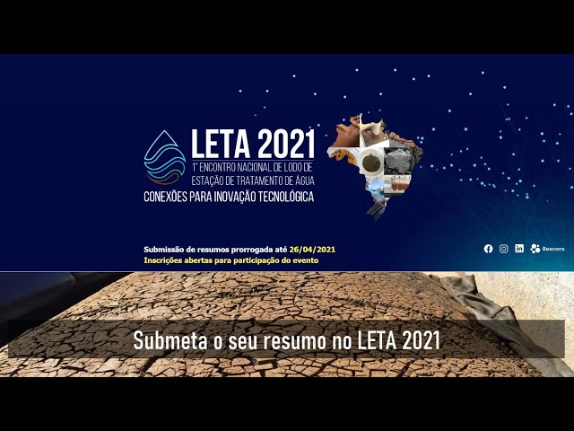 1º Encontro Nacional de Lodo de ETA