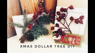 4 CHRISTMAS DIY | Dollar Tree | Home Decor