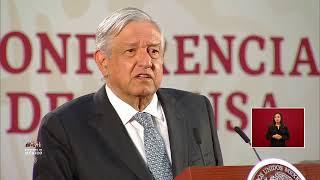 Gobierno de México live stream on Youtube.com
