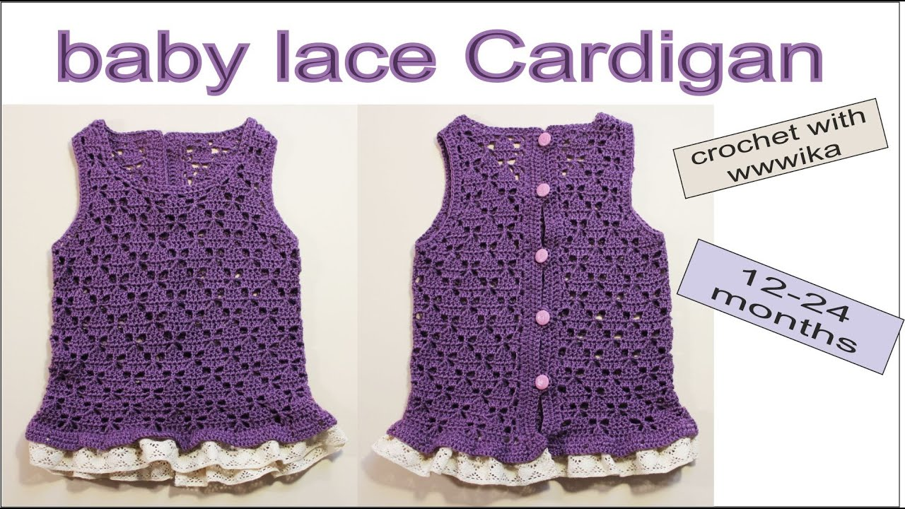 how to crochet jacket baby cardigan baby sweater design