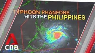 Typhoon Phanfone hits Philippines