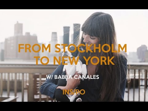 From Stockholm to New York with Babba Canales - YouTube
