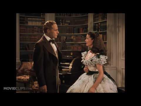 Gone with the Wind 1 6 Movie CLIP   Scarlett Meets Rhett 1939 HD