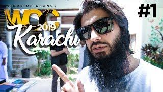 KARACHI TOUR - WOC 2019 #1 | Vlog | ali e.
