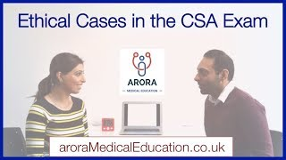 How to handle ETHICAL issues in the CSA Exam