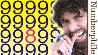 Glitch Primes and Cyclops Numbers - Numberphile