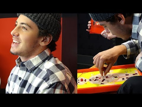 Let's Play Operation with Mark McMorris, Olympic Snowboarder and Broken Bone Aficionado
