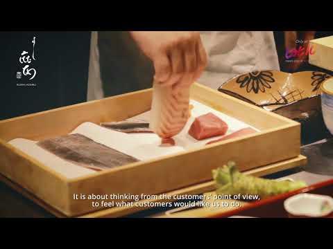 [Lot10] Isetan - The Table - Sushi Azabu