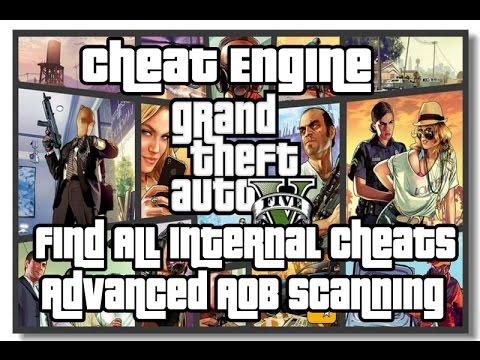 GTA V: Find All Internal Cheats using Cheat Engine - AOB Scanning Byte Change