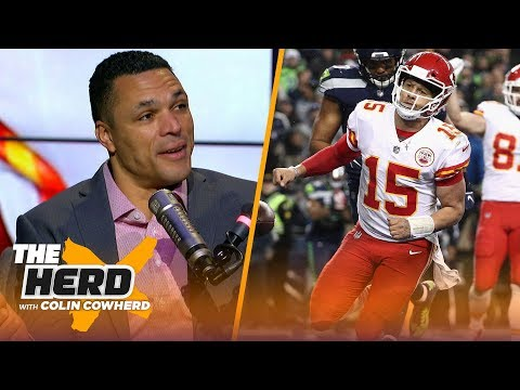 Tony Gonzalez talks Cowboys' playoff hopes, Mahomes' MVP resume & Baker Mayfield | NFL | THE HERD