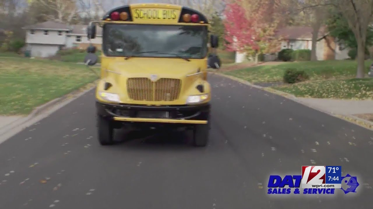 On the Job: School bus drivers being hired in RI