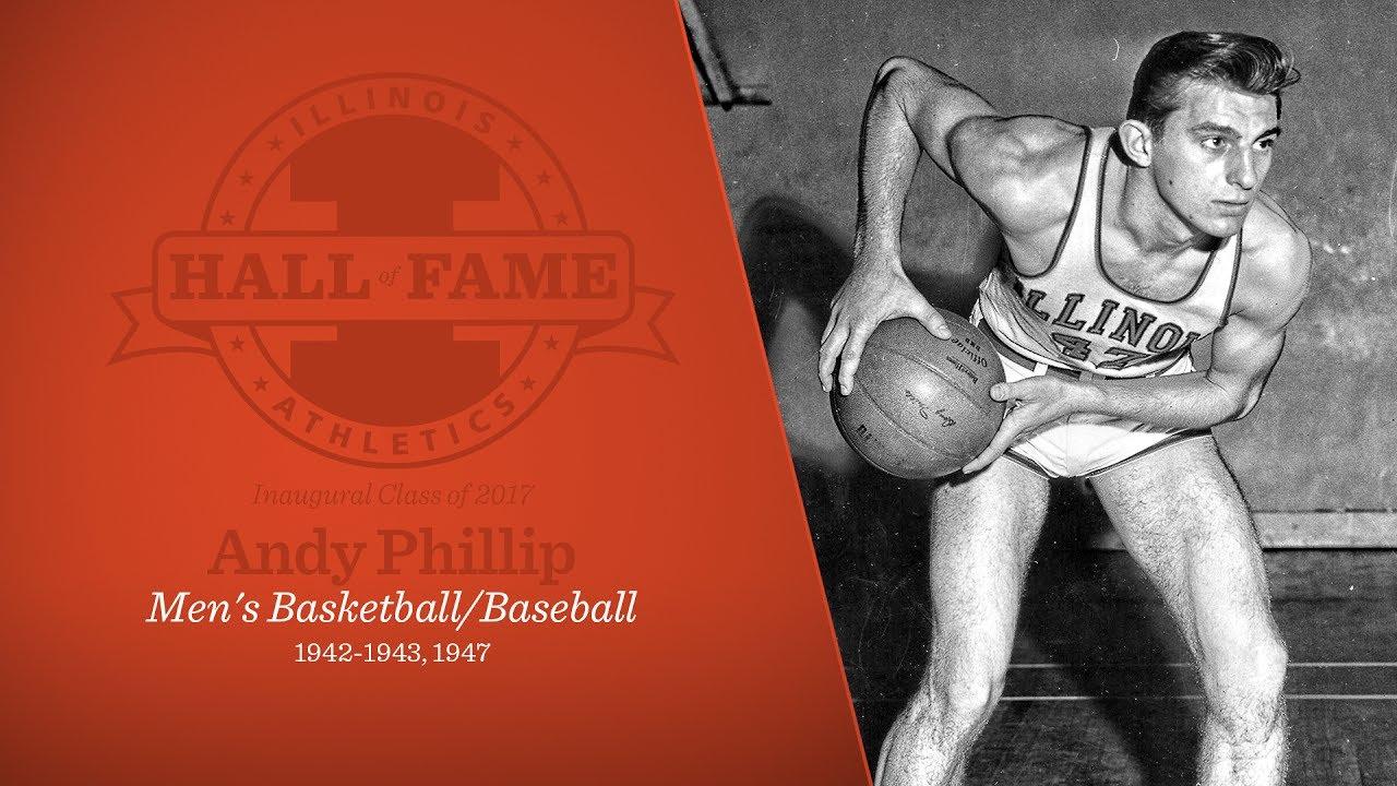 Illinois Athletics Hall of Fame Andy Phillip