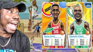 USING KENNY SMITH & SHAQ w/NEW SHOT METER ONLINE! NBA Playgrounds Gameplay Ep. 12