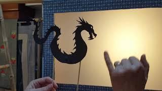 Les petits contes du dragon: Comment construire un théâtre d'ombres chinoises