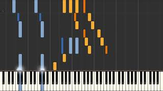 Caught up in the Rapture - Piano tutorial