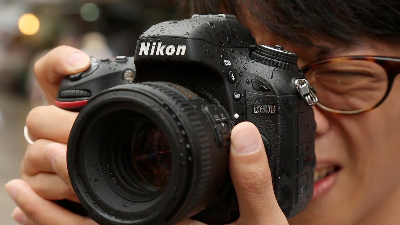 Nikon D600 Hands-on Review - DigitalRev TV