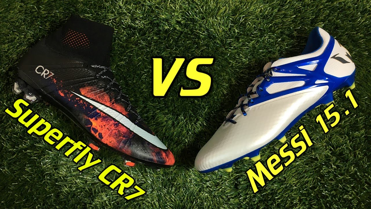 CR7 Nike Mercurial Superfly 4 vs Adidas Messi 15.1 - Comparison + Review -  YouTube