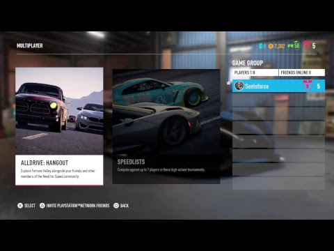 Need for speed Payback cruising and All drive looking for some action
