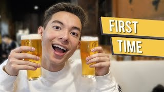 Getting Drunk in Japan!