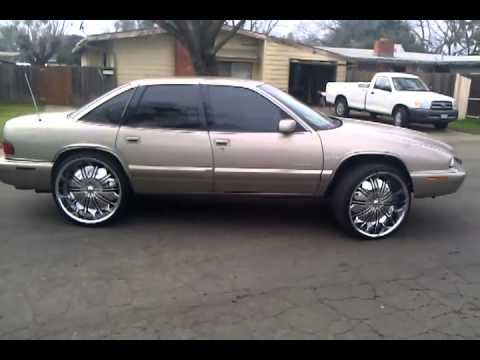 Amber S 96 Buick Regal On 24 S Pt 1 Youtube