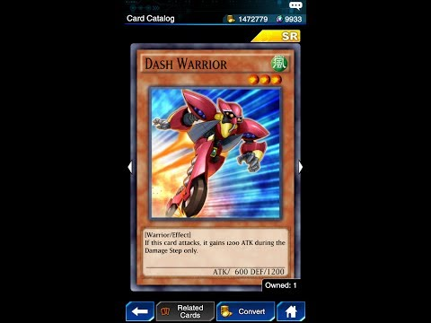 Yugioh Duel Links - Duel A Thon! Special Reward : Dash Warrior