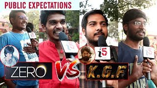 ZERO Movie VS KGF Movie Public Talk | Shahrukh Khan VS Yash [ Telugu ]| i5 Network