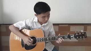 (Yiruma) Kiss the rain - (with TAB) Fingerstyle Guitar Cover by Tran Quoc Huy