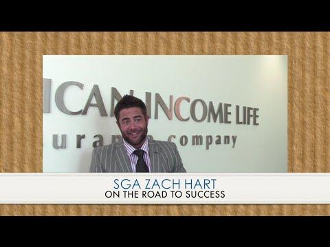 American Income Life SGA Zach Hart on the Road to Success