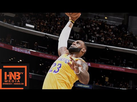 Los Angeles Lakers vs Denver Nuggets 1st Half Highlights | 02.10.2018, NBA Preseason
