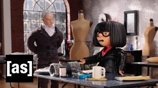 Project Runway Meets Edna Mode | Robot Chicken | Adult Swim