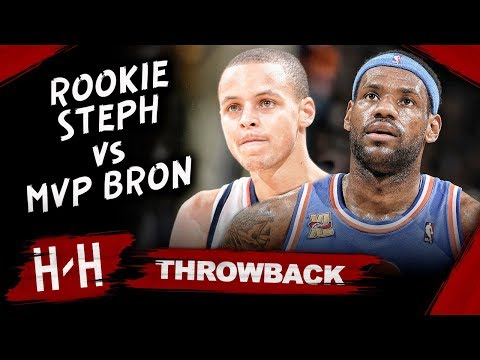 MVP LeBron James vs Rookie Stephen Curry EPIC Duel Highlights (2010.01.11) - LBJ Blocks Steph!
