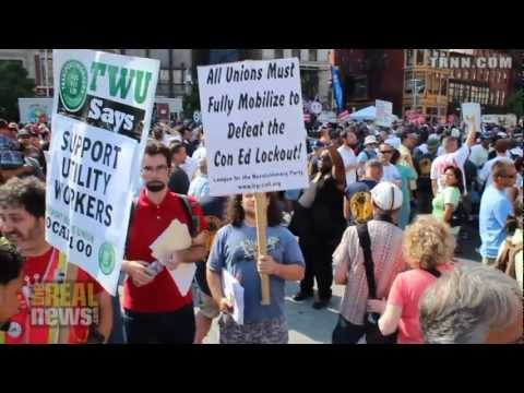 Thousands Rally to Support Locked Out Con Ed Workers