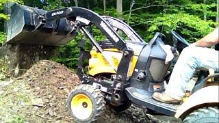 Diy 4x4 Diesel Tractor Digging Up Marcellus Shale Deposit. Yanmar Flexes Its Muscles