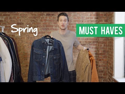 The 3 Types Of Spring Jackets Every Guy Must Have! | OUTFIT INSPIRATION FOR MEN | SPRING 2018
