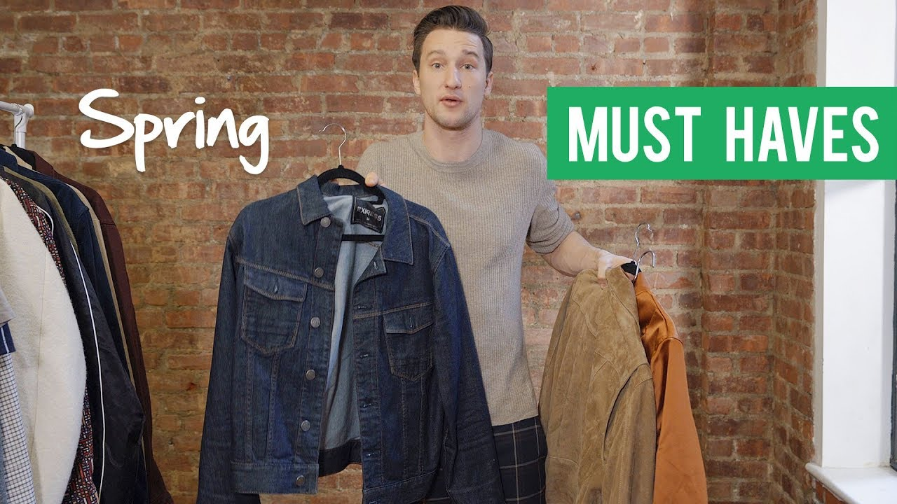 The 3 Types of Spring Jackets Every Guy Must Have! | OUTFIT ...