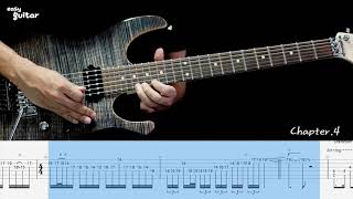 Dream Theater - Overture 1928 Guitar Lesson With Tab (slow tempo)